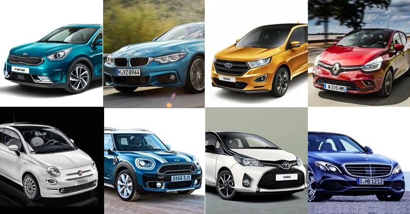 Mercato auto rallenta in Europa, +2,1% a giugno
