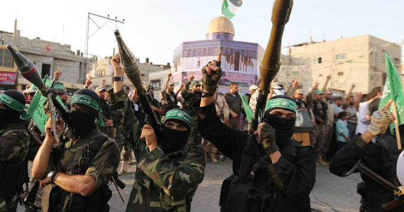 Militanti di Hamas (Reuters)