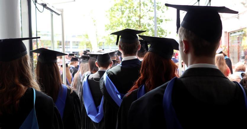 Cerimonia di laurea alla Warwick University (Reuters)