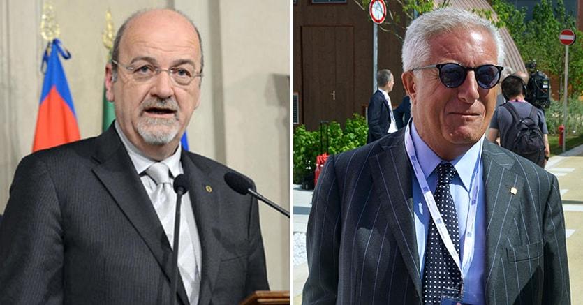 Da sinistra: Rudi Franco Marguerettaz e Paolo Naccarato