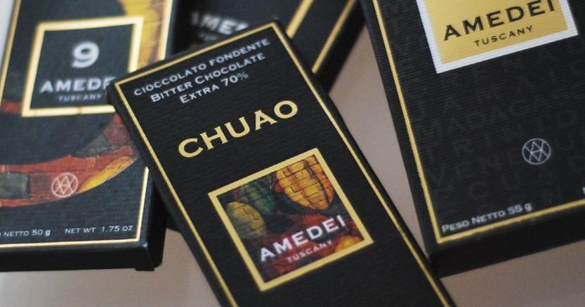 Il cioccolato Amedei torna in Italia Ferrarelle acquista il 99%
