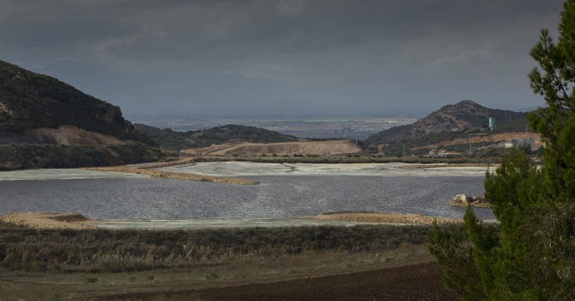 L'ex miniera di Furtei (Fotogramma)