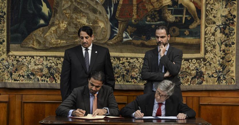 Firma memorandum tra il Governo Italiano e Qatar Fund for Development per la ricostruzione post terremoto