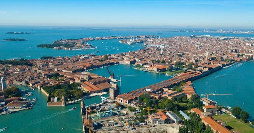 Porto di Venezia. (Marka)