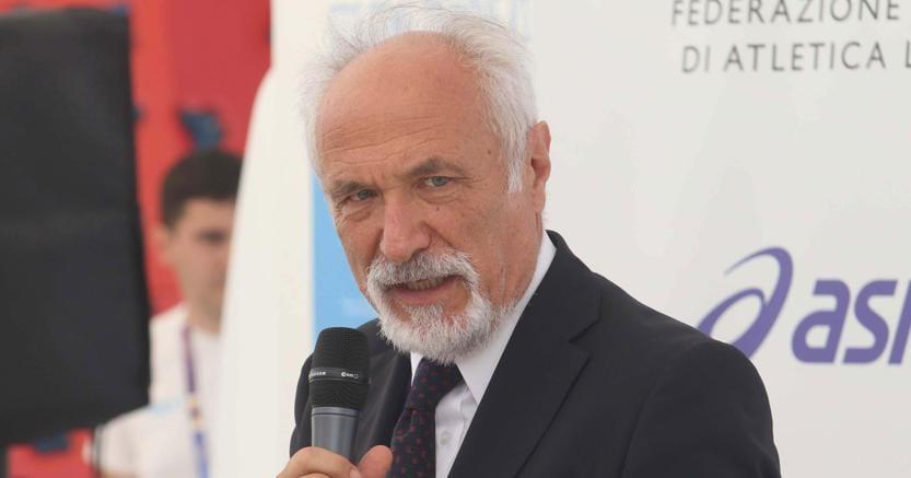 Alfio Giomi, presidente della Fidal. (Ansa)