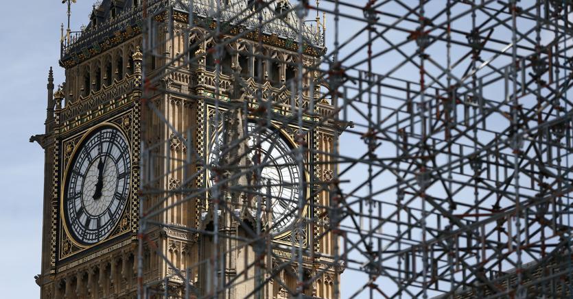 Londra al via il restauro del big ben rester muto per 4 for Votazioni parlamento oggi