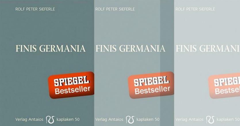 Il saggio di Rolf Peter Sieferle è in testa alle classifiche di vendita: è edito dal piccolo  editore Antaios