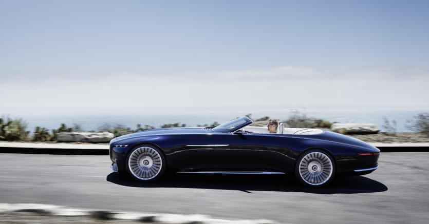 Mercedes-Maybach Vision 6 Cabriolet: lusso assoluto