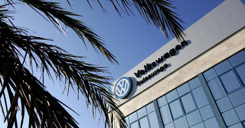 Sede della Volkswagen a Palmela, a sud di Lisbona (Afp)