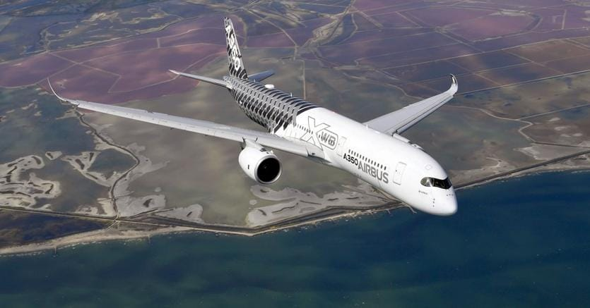 L'Airbus A350-900 rischia di esplodere in volo per un problema