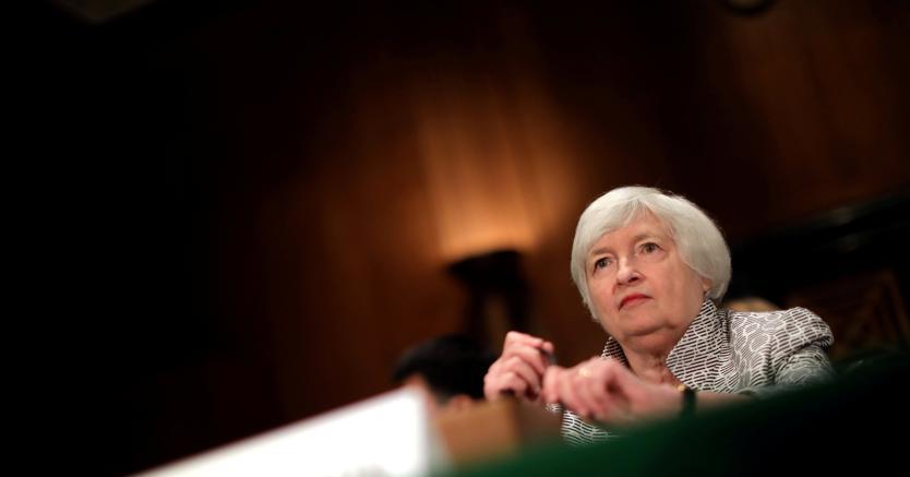 Jackson Hole, venerdì caldo con Draghi e Yellen