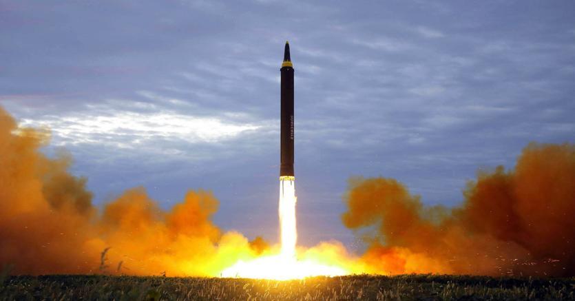 Il test missilistico nordcoreano (Ap)