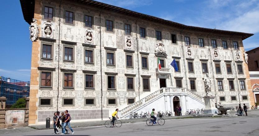 La Scuola Normale di Pisa (Agf)