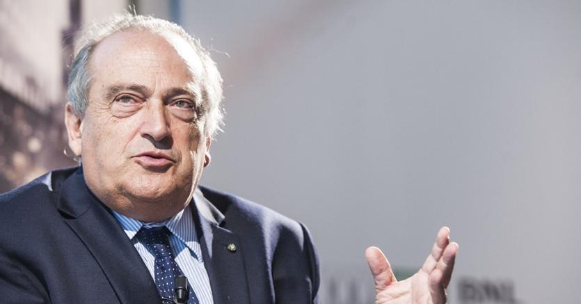 Luigi Abete, presidente Bnl, all'Accademia di Francia a Roma, Forum delle Imprese Familiari Francia-Italia.