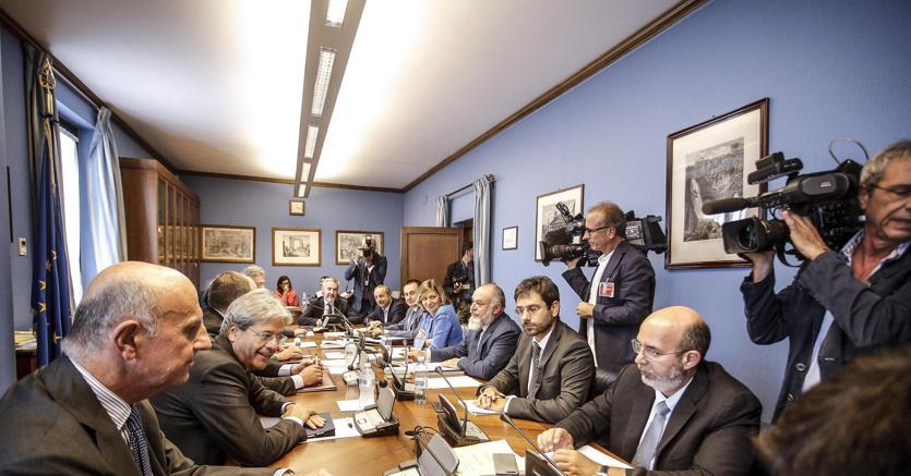 La riunione del Copasir