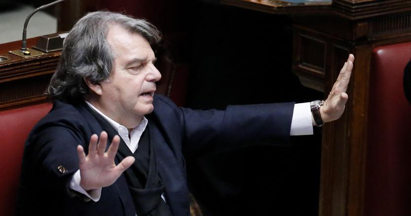 Il capogruppo di Fi Renato Brunetta