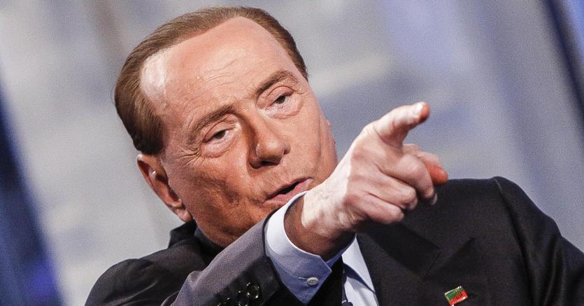 Il leader di Fi Silvio Berlusconi