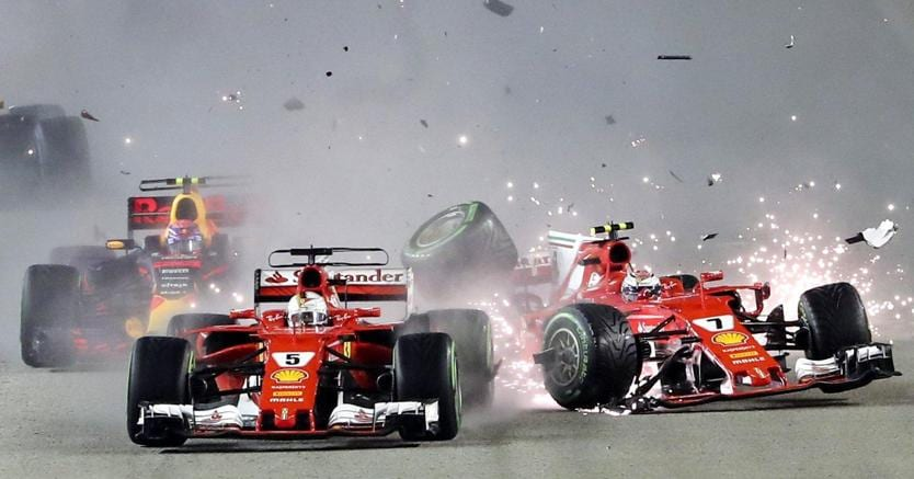 F1 | Ferrari, Vettel commenta l'incidente:
