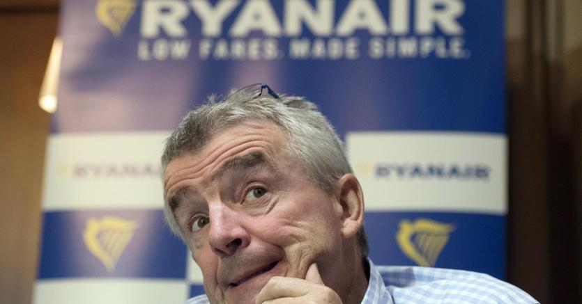 L'amministratore delegato di Ryanair Micheal O'Leary (Ap)