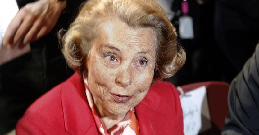Morta Liliane Bettencourt, presidente dell'Oreal