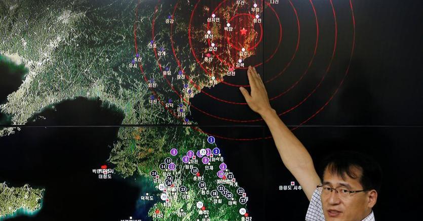 Corea Nord: Nuova Cina, terremoto di 3.4 gradi