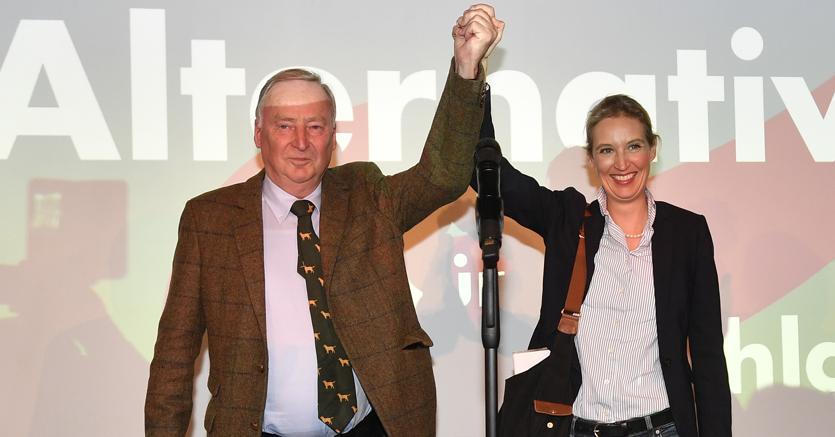 Elezioni in Germania, Afd festeggia l'ingresso in Parlamento