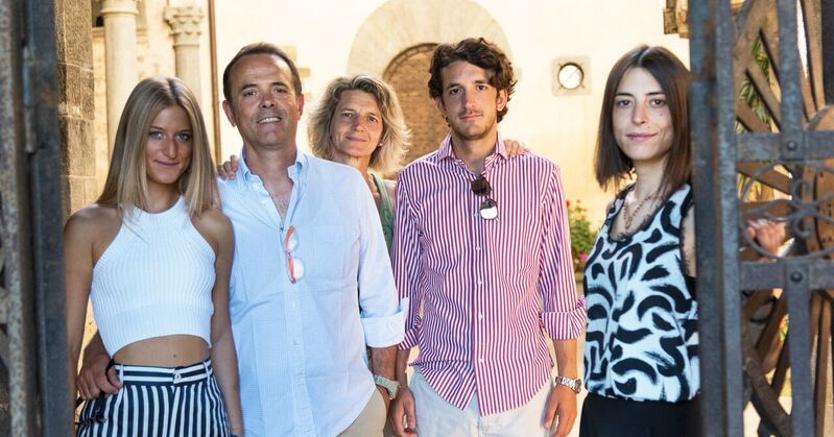 La famiglia Casadei