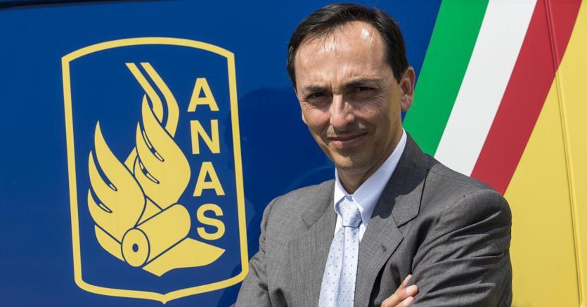 Il presidente dell'Anas Gianni Armani