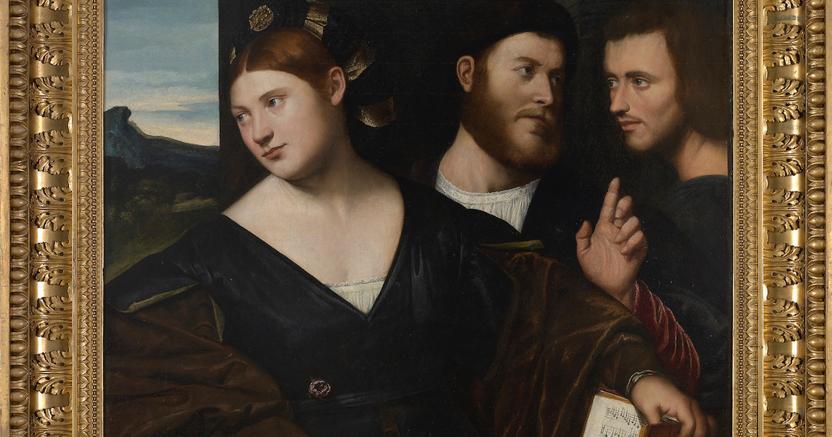 """Allegoria dell'amore"""" di Bernardino Licinio (1490 – Venezia – 1550) da Robilant + Voena, prezzo richiesto 750.000 euro"""