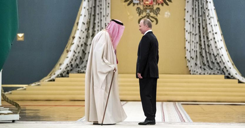 Novant'anni dopo:re Salman d'Arabia e Vladimir Putin al Cremlino