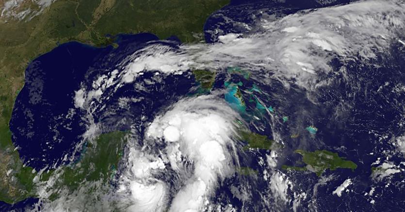 La tempesta tropicale Nate. (Afp)