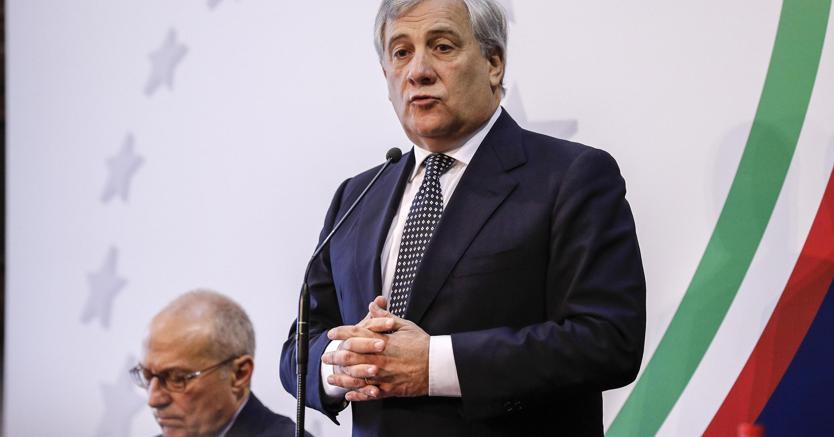 Antonio Tajani. (Ansa)