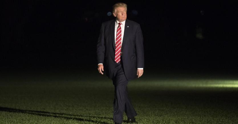 Il presidente degli Stati Uniti Donald Trump - Epa