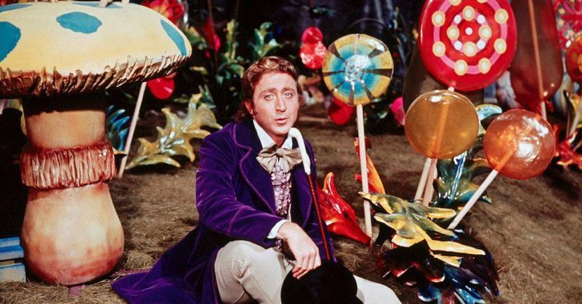 """Una scena del film """"Willy Wonka e la fabbrica di cioccolato"""" (Marka)"""