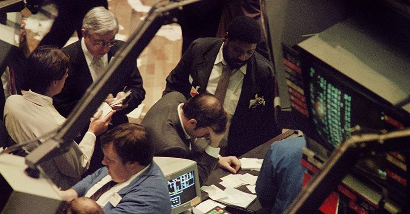 Wall Street, Il DOW supera quota 23mila punti. Balzo di IBM