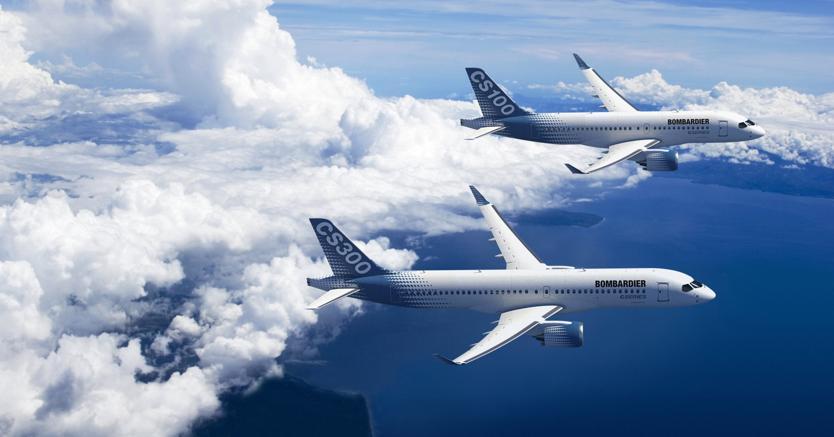 Bombardier aggira dazi Trump 220%. Joint-venture con Airbus per gli aerei CSeries