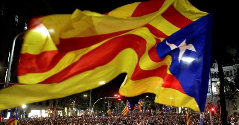 Manifestazione per l'indipendenza della Catalogna (Epa)