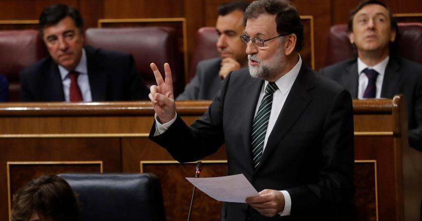 Il primo ministro spagnolo Mariano Rajoy (Epa)