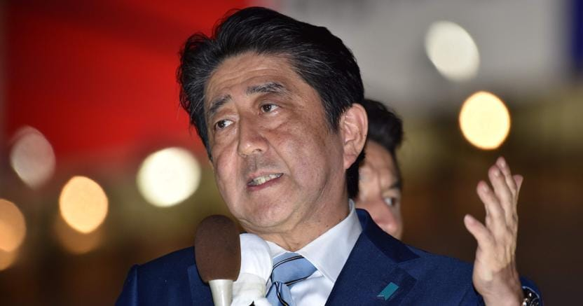 Giappone, Abe: