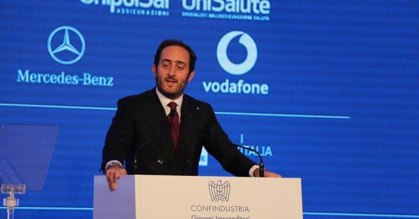 Il presidente dei giovani di Confindustria Alessio Rossi