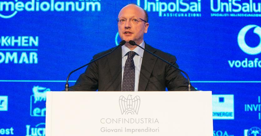 Vincenzo Boccia, presidente di Confindustria