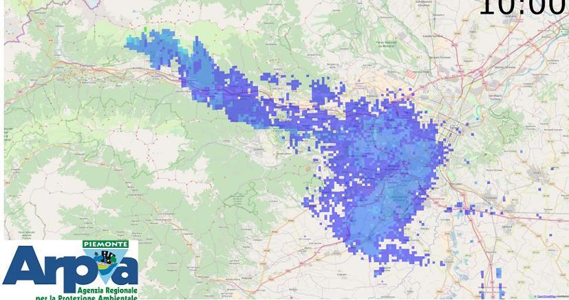 515556bf34 Il Piemonte nella morsa di siccità, incendi e smog. Torino: polveri ...