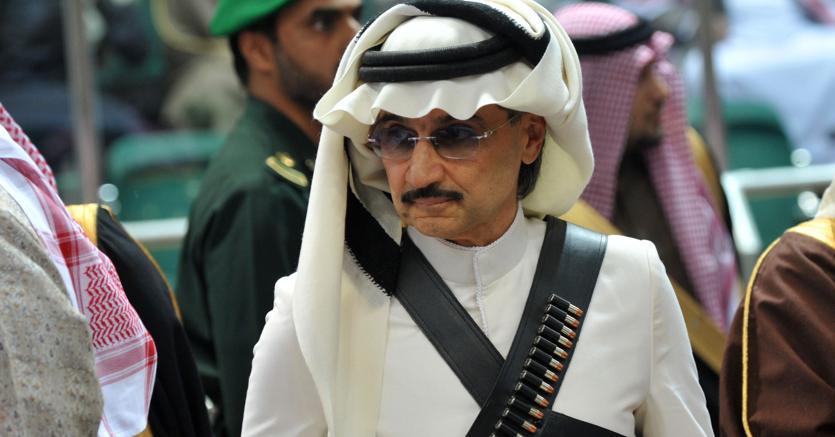 Il principe saudita al-Waleed (Afp)