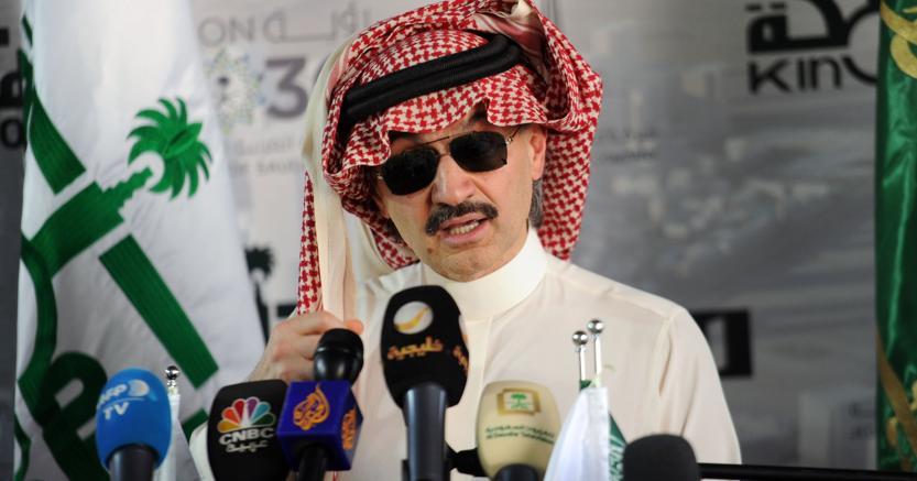 al Waleed bin Talal - Afp