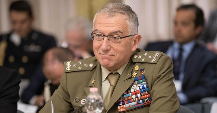 Il capo di Stato maggiore della Difesa Claudio Graziano