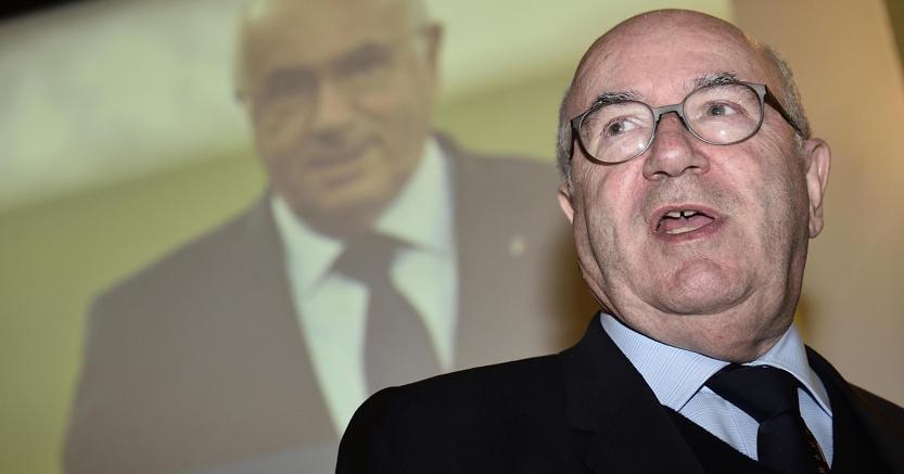 Il presidente della Figc Carlo Tavecchio