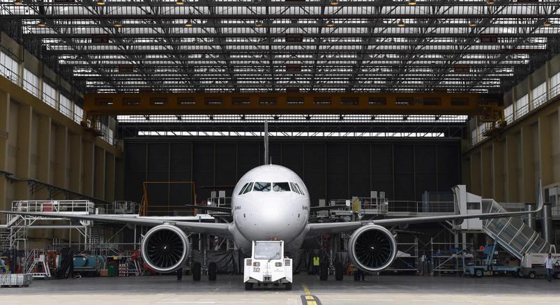 L'ultimo investimento di Indigo:430 jet Airbus (Afp)