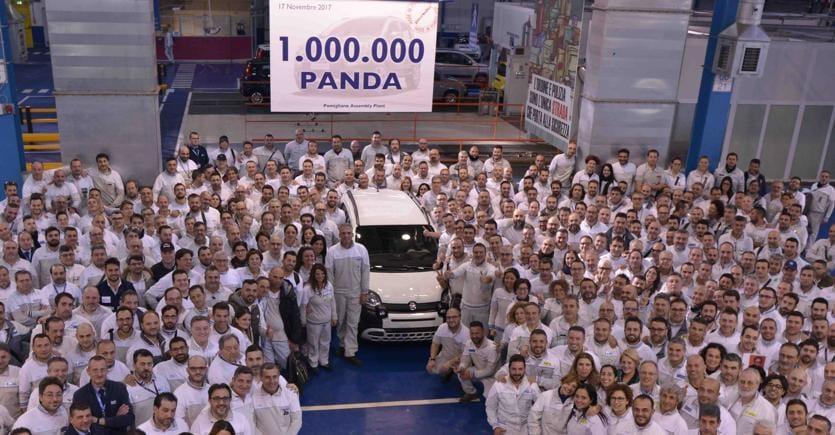 A Pomigliano completata la milionesima Fiat Panda di quarta generazione