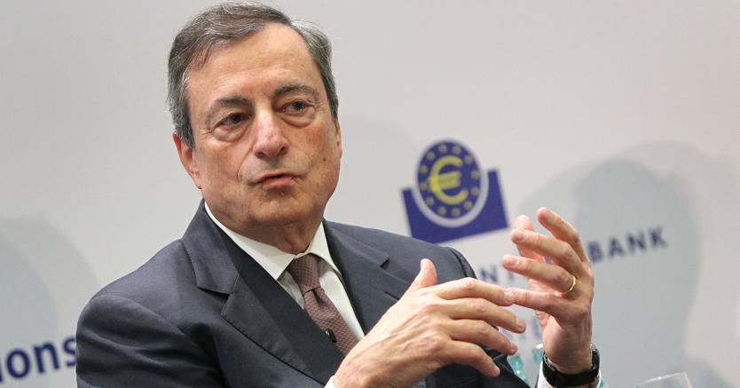 Mario Draghi. Afp