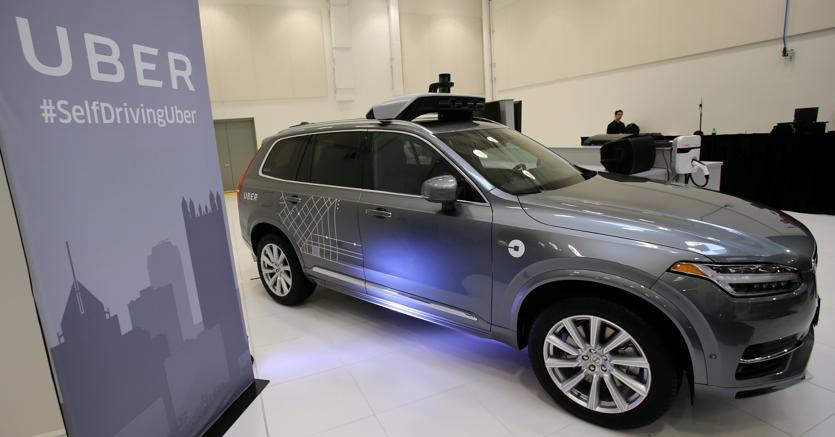 Uber ordina 24.000 Volvo XC90 per la guida autonoma